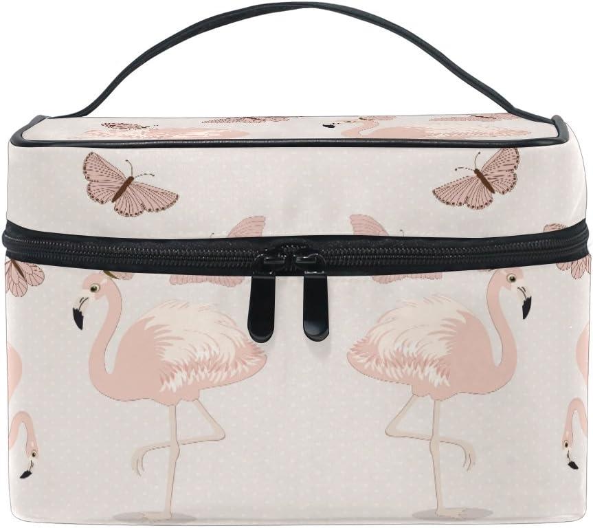 Fantaisie Papillons Roses Espace Art Femmes Filles Coquille cosm/étique Maquillage Sac de Rangement en Plein air Shopping pi/èces Portefeuille Organisateur