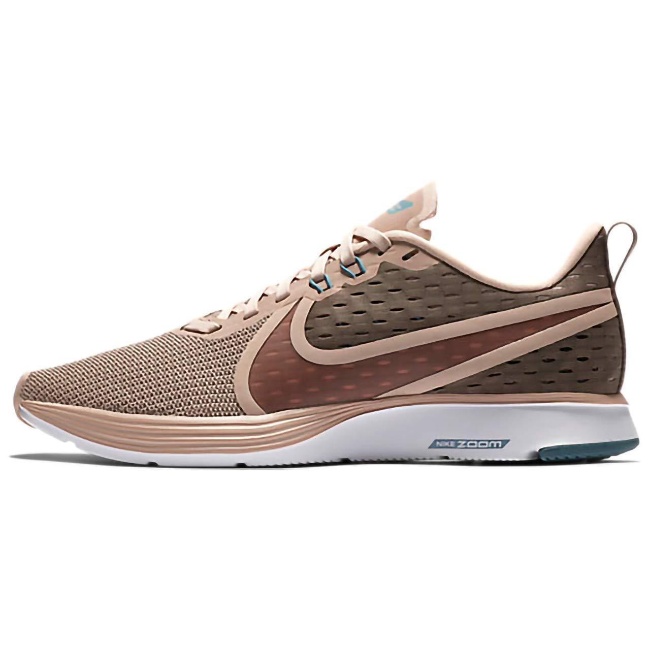 MultiCouleure (Mink marron Particle Beige Celestial Teal 201) Nike WMNS Zoom Strike 2, Chaussures de Running Compétition Femme 36.5 EU