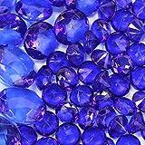 royal blue centerpieces - Koyal Wholesale Centerpiece Vase Filler Acrylic Diamonds, Royal Blue