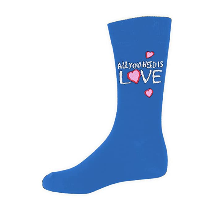 The Beatles All You Need Is Love Oficial de los hombres nuevo Azul Calcetines: Amazon.es: Ropa y accesorios