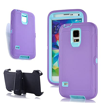 Amazon.com: Harsel Defender Series - Carcasa para Galaxy S5 ...