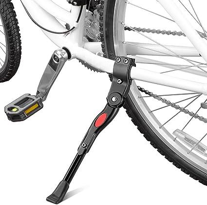 "EBike Adjustable Center Kickstand Aluminum Electric Bicycle Black 24 26/"" NEW"