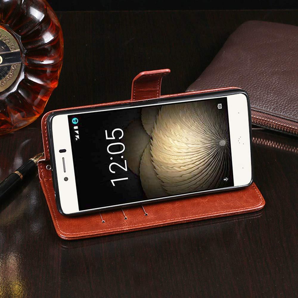 Amazon.com: BQ Aquaris U Plus Case, PU Leather Stand Wallet ...
