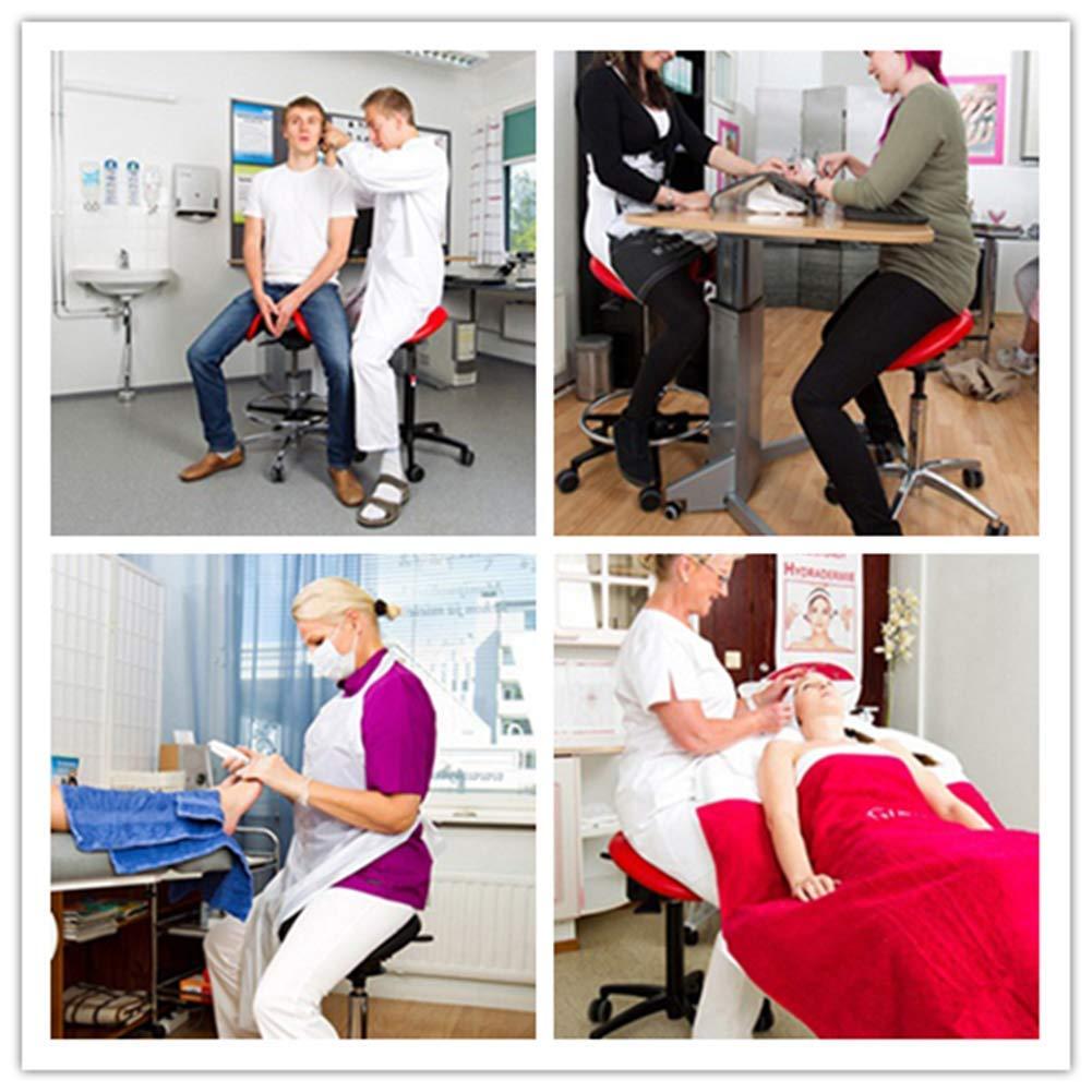 Thole Sgabello da Massaggio Regolabile Sgabello Idraulico da Sella Sedia da Massaggio per Il Viso Massaggio
