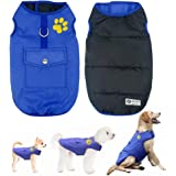 Didog Chaleco Impermeable para Perro, Chaleco, Chaleco, Ropa Exterior Reversible,…