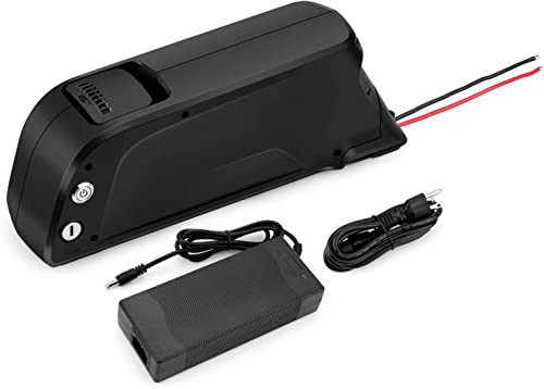 Sunbond EBike Battery 48V 11.6AH Lithium ion Rechargeable Battery with USB Port Black , with Charger, Electric Bicycle Battery Pack Electric Bicycle Battery, Motorcycle Bicycle Batteries