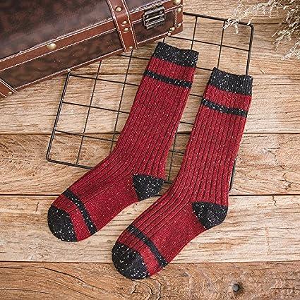 Día de bandas retro storehouse calcetines coreano femenino otoño e invierno personalizado calcetines calcetines de lana