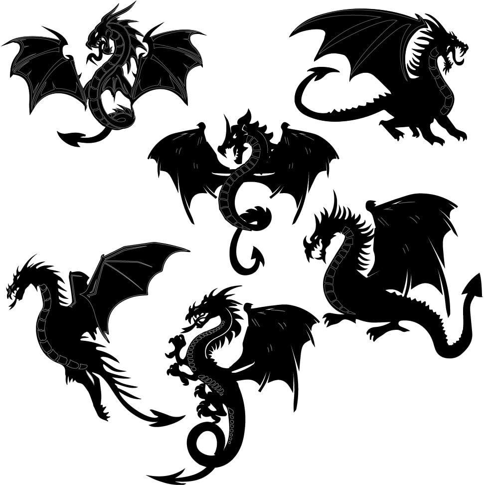 Choose from 10 design Boys//Fantasy SCRAP FX Chipboard /'DRAGONS/' Embellishments