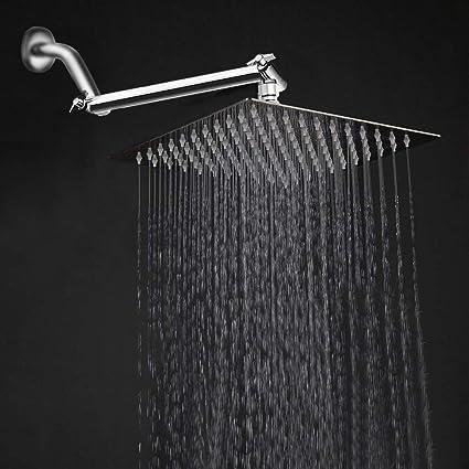 Amazon.com: HarJue - Alcachofa de ducha de acero inoxidable ...