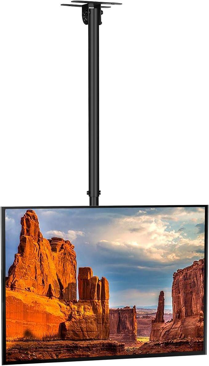 SIMBR Soporte TV de Techo con Altura Ajustable Soporte para Televisión con Pantalla LED/LCD/Plasma de 22-55 Carga Máxima 50kg VESA Máxima 400×400 Inclinable y Giratorio: Amazon.es: Electrónica