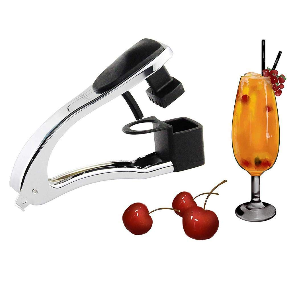 Iannan Kitchen Gadget Stainless Steel Red Dates Cherry Pitter Home Utility Pitters by Iannan