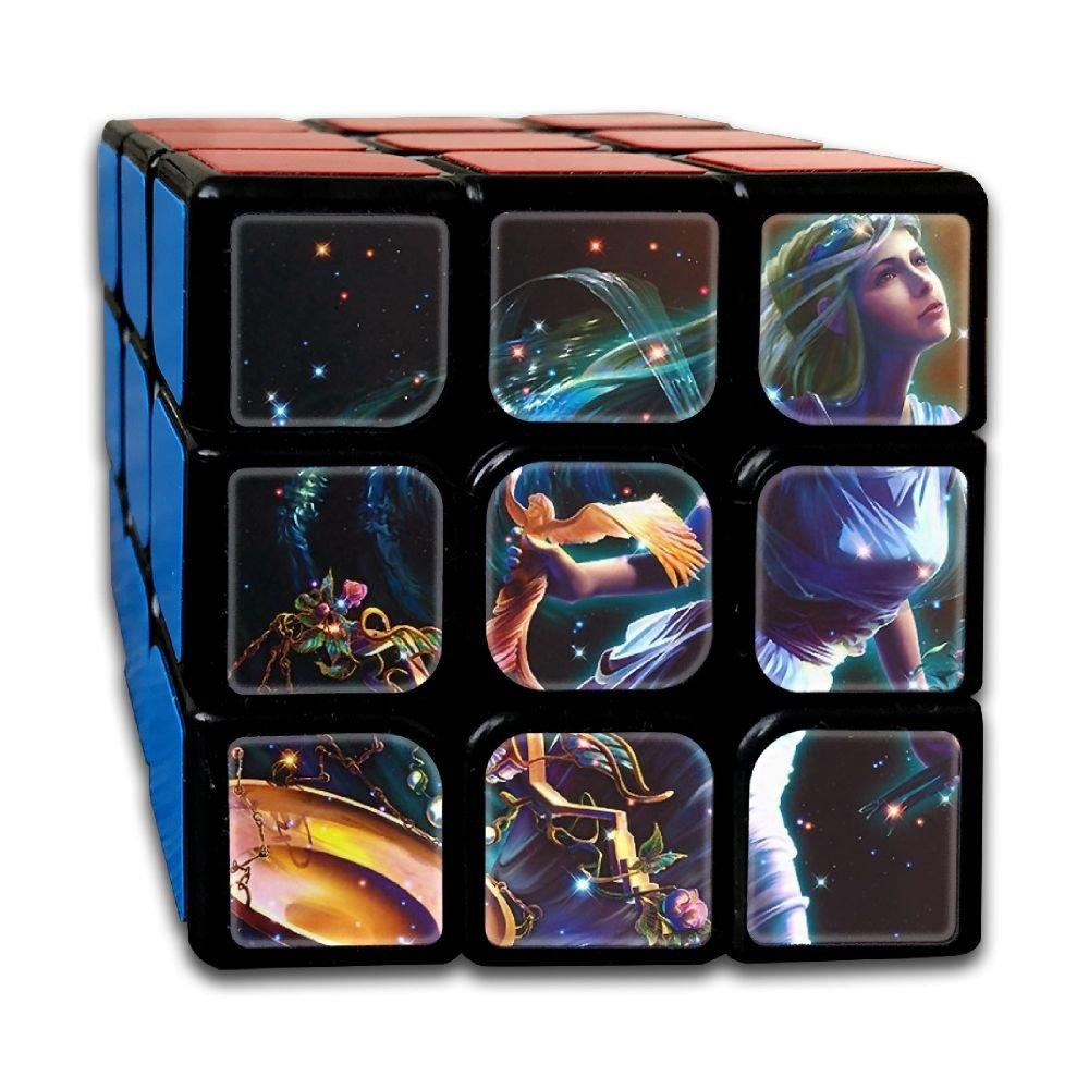 AVABAODAN Libar Angel Rubik's Cube Original 3x3x3 Magic Square Puzzles Game Portable Toys-Anti Stress For Anti-anxiety Adults Kids