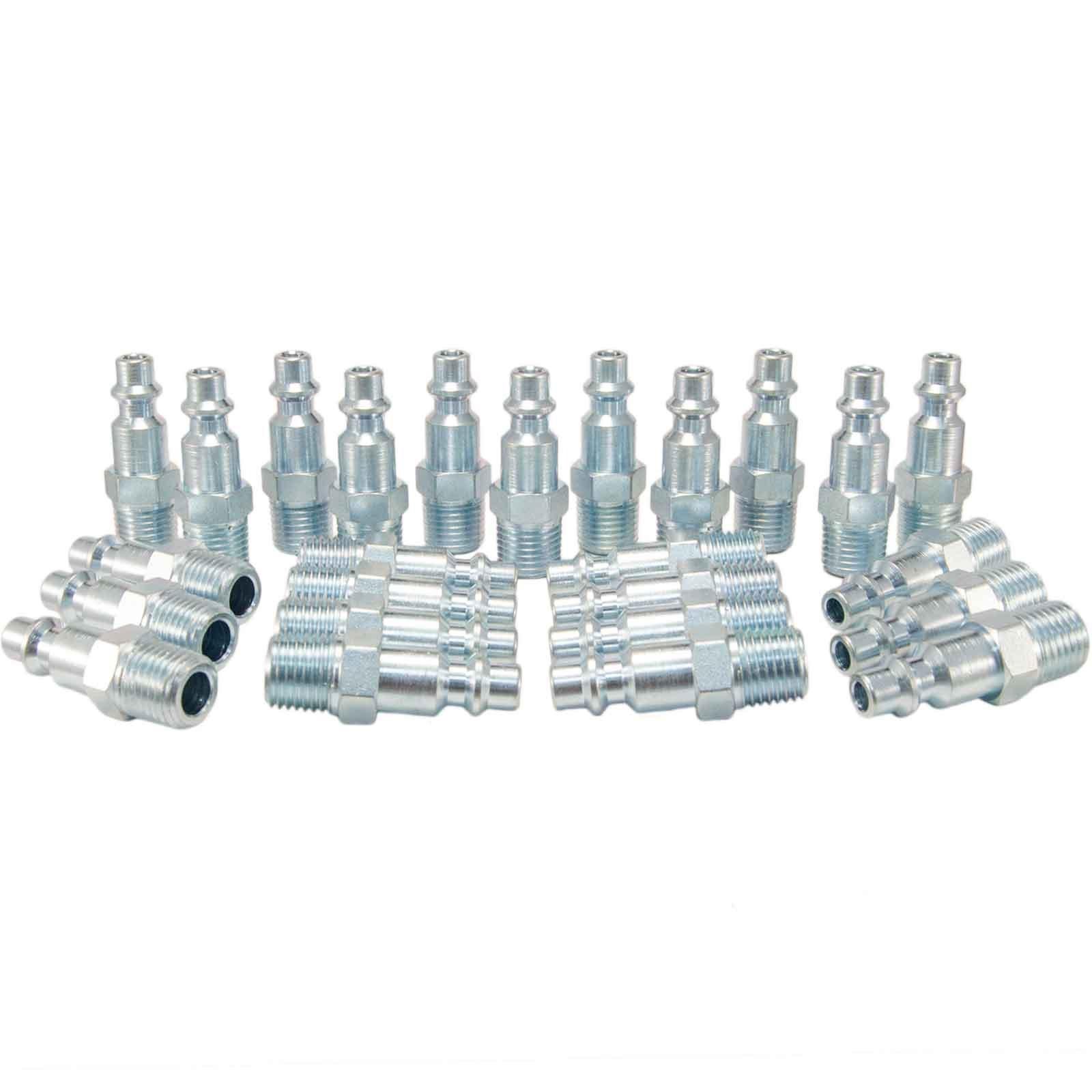 Foster 3 Series - Steel Plugs 25pc, 1/4'' Body, 1/4'' NPT - Industrial Interchange, I/M, MIL Spec,