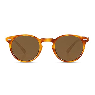 5c91e45578 Amazon.com  CANYEUX Vintage Round Polarized Sunglasses for Women and ...