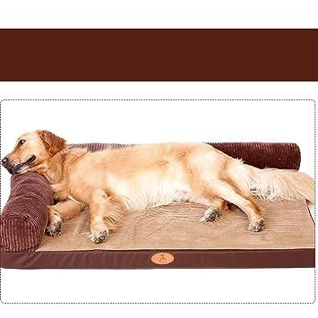 MUJING Oxford - Almohadilla para perro, grande, labrador para perro, cama para mascotas