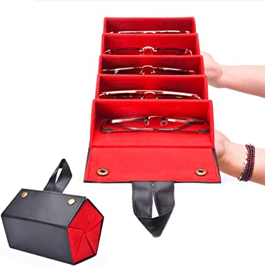 Portable Sunglasses Box Sunglasses Storage Organizer Eyeglass Box Spectacles