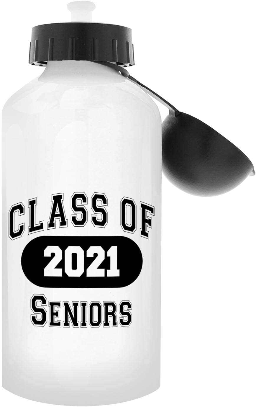 Amazon Com Graduation Gifts Class Of 2021 Seniors Grad Gift Aluminum Water Bottle With Cap Sport Top White Kitchen Dining