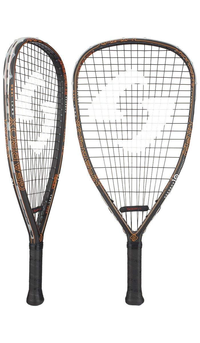 Gearbox GBX1 165 Quad Racquetball Racquet (Orange)