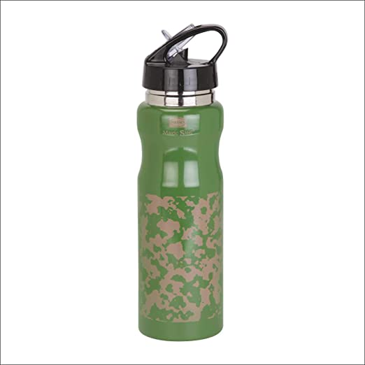 Polyset Stayfit Stainless Steel Water Bottle, 750 ml, 1-Piece, Green