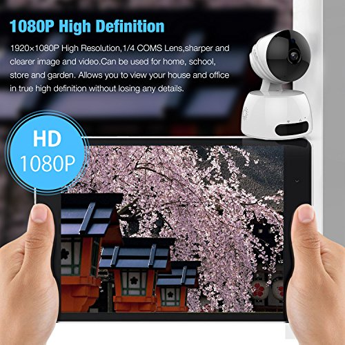 Wifi Camera, 1080P HD Home Security Camera with Two-way Audio, Night  Vision, Wifi Surveillance | PrestoMall - CCTV