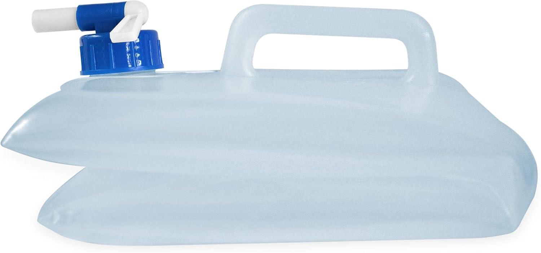 normani Faltbarer Falteimer Wasserkanister mit Hahn in verschiedenen Gr/ö/ßen