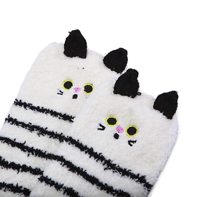 Amazon.com: Littleforbig - 2 pares de calcetines de forro ...