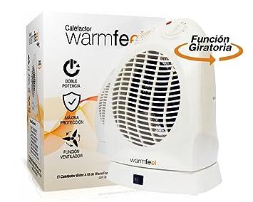 Biwond - Calefactor Aire Caliente y Frio Eider a18 2000w warmfeel: Amazon.es: Informática