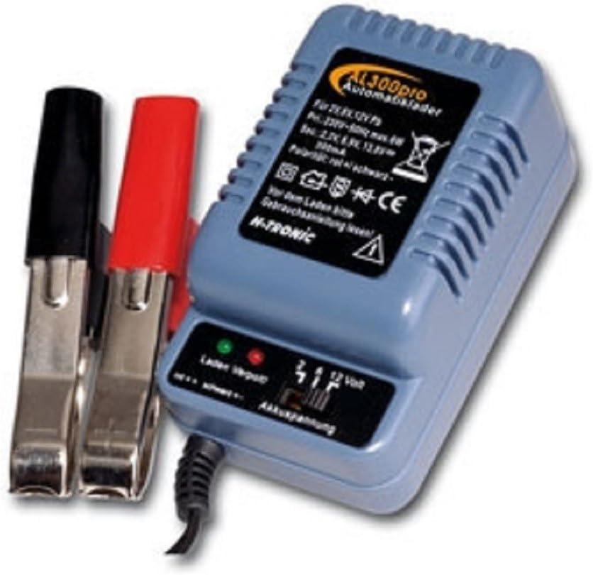 H-Tronic AL 600plus für 2//6//12V Batterien Automatiklader Batterieladegerät