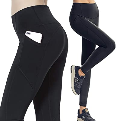 e52dc733d9e08 Womens Yoga Pants Compression fabletics Leggings with High Waist Streamlined  Design Workout Fitness Sports Gym Running