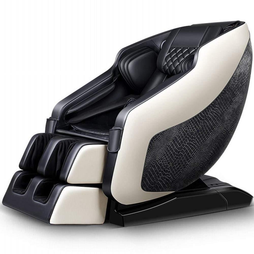 Z&J Jiahang Sl Guide 4D Massage Stuhl Hause Automatische Körper Kneten Multifunktions Raumkapsel Elektrischen Sofa Stuhl,Krokodilkorn,Einheitsgröße