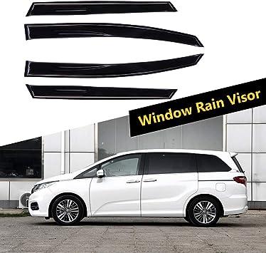 Aintier Ventvisor Side Window Deflector Window Visors Rain Guard Set Fits for 2005-2010 Honda Odyssey