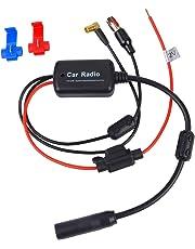 Amplificador de señal del coche Fansport DAB + Amplificador de la señal de FM Amplificador de