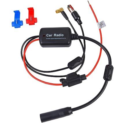 Fansport amplificador antena coche + Amplificador de la señal de ...