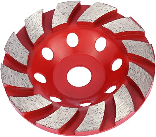 """Diamond Grinding Cup Wheel 4/"""" Inch Bowl Shape Disc Grinder For Angle Concrete"""