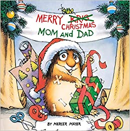 Merry Christmas Mom and Dad (A Golden Look-Look Book): Mercer Mayer ...