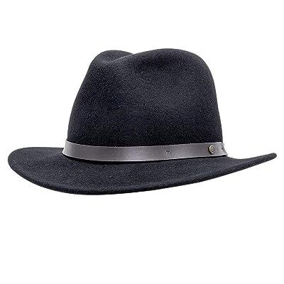 Fedora Leather Band Wool Felt Fedora Hat Men Women Hand Made superior Comfort Timeless Style