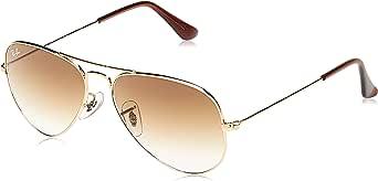 نظارات شمسية افياتور فريم للجنسين من ريبان - RB3025-001-51-55