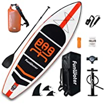 FunWater Inflatable Stand Up Paddle Boards 11×33
