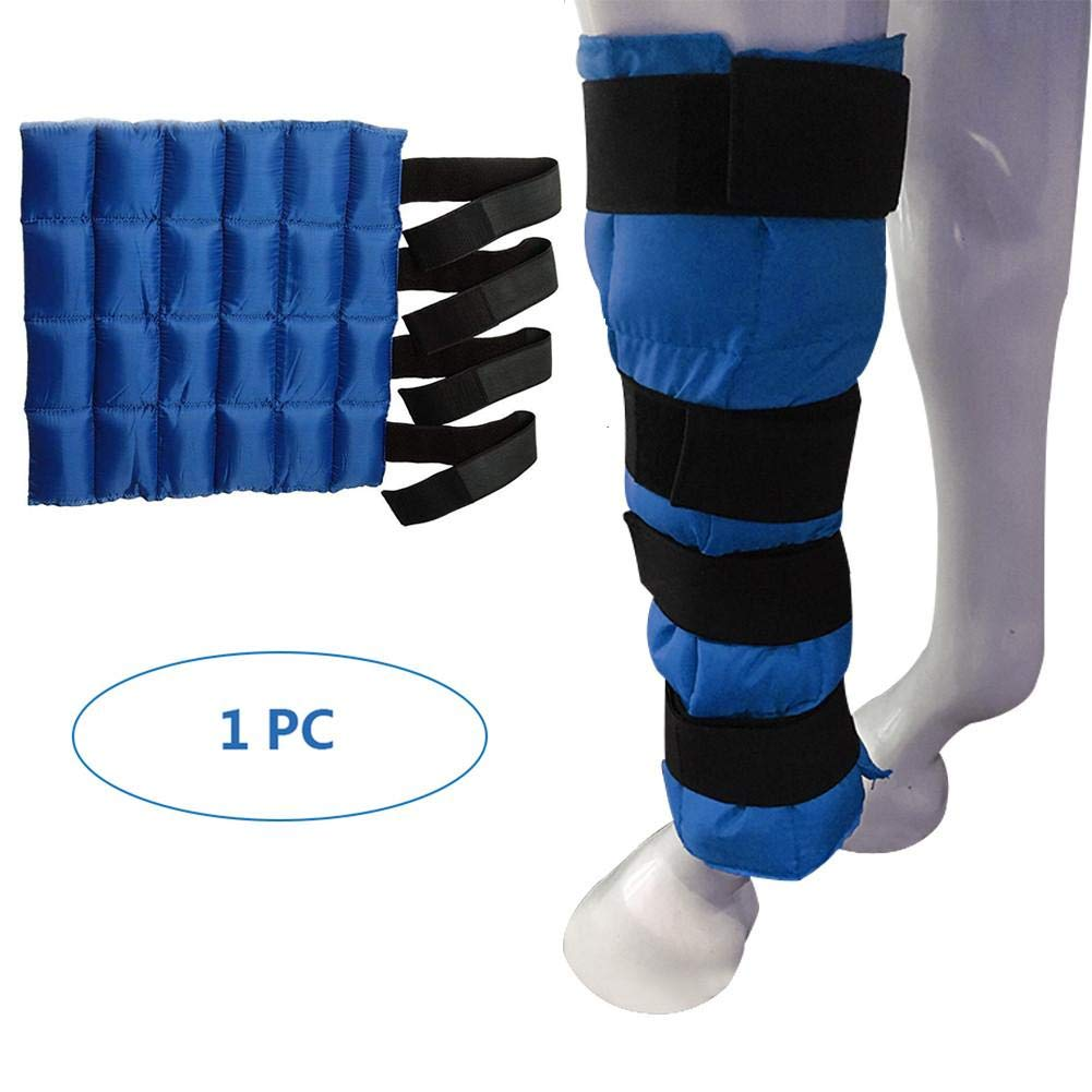 Cooling Horse Leg Wraps - 1 Pair / 2 Pair Ice Boots Equestrian Leggings Cold Pack to Relief The Pain Gorgebuy