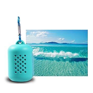 Gaddrt - Toalla de Playa de Microfibra con sensación fría, para Viajes, Deportes,