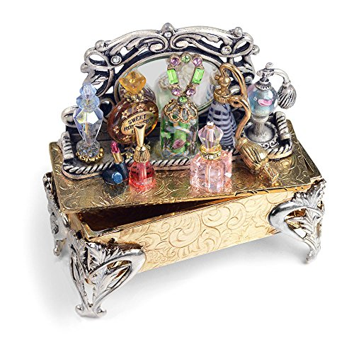 Sweet Romance Miniature Perfume Tray Storybox