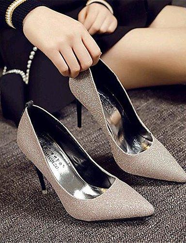 Ggx us8 similicuir Aiguille Evénement chaussures noir Soirée Or Uk6 talon Argent Habillé mariage amp; Cn39 Eu39 talons À Talons Homme Black rqwTZ1nr