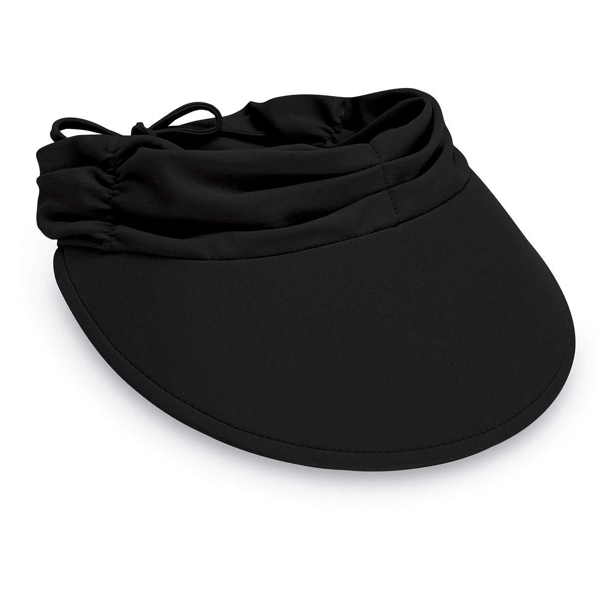 Wallaroo Hat Company Women's Aqua Sun Visor – Ultra-Lightweight Ready for Adventure Designed in Australia