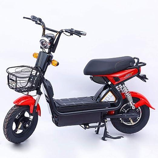 Jun Bicicleta Eléctrica para Adultos, Batería De Litio, 9 Tubos ...
