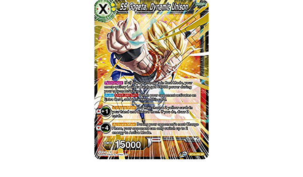 Dragon Ball Super SS Gogeta Dynamic Unison BT10-095 SR