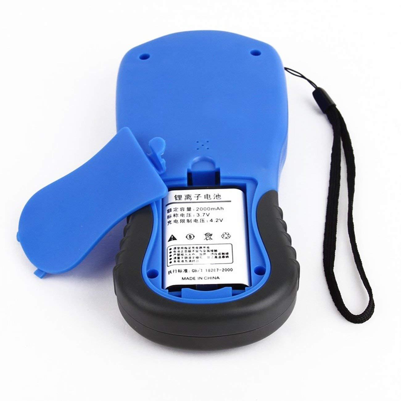 Dispositivos de prueba GPS NF-198 Medidor GPS terrestre Pantalla LCD Valor de medici/ón Figura /Área de topograf/ía y topograf/ía de tierras agr/ícolas JBP-X