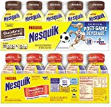Nesquik Low Fat Milk Variety 8 Oz Bottle (Pack of 20)