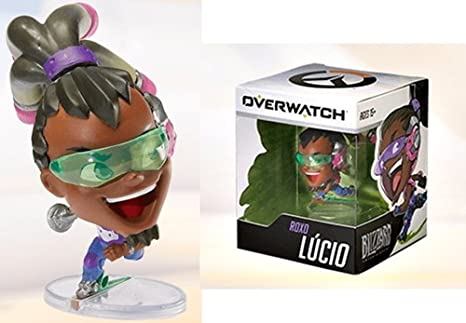 Amazon.com: Cute But Deadly Overwatch Roxo Lucio Figure by ...