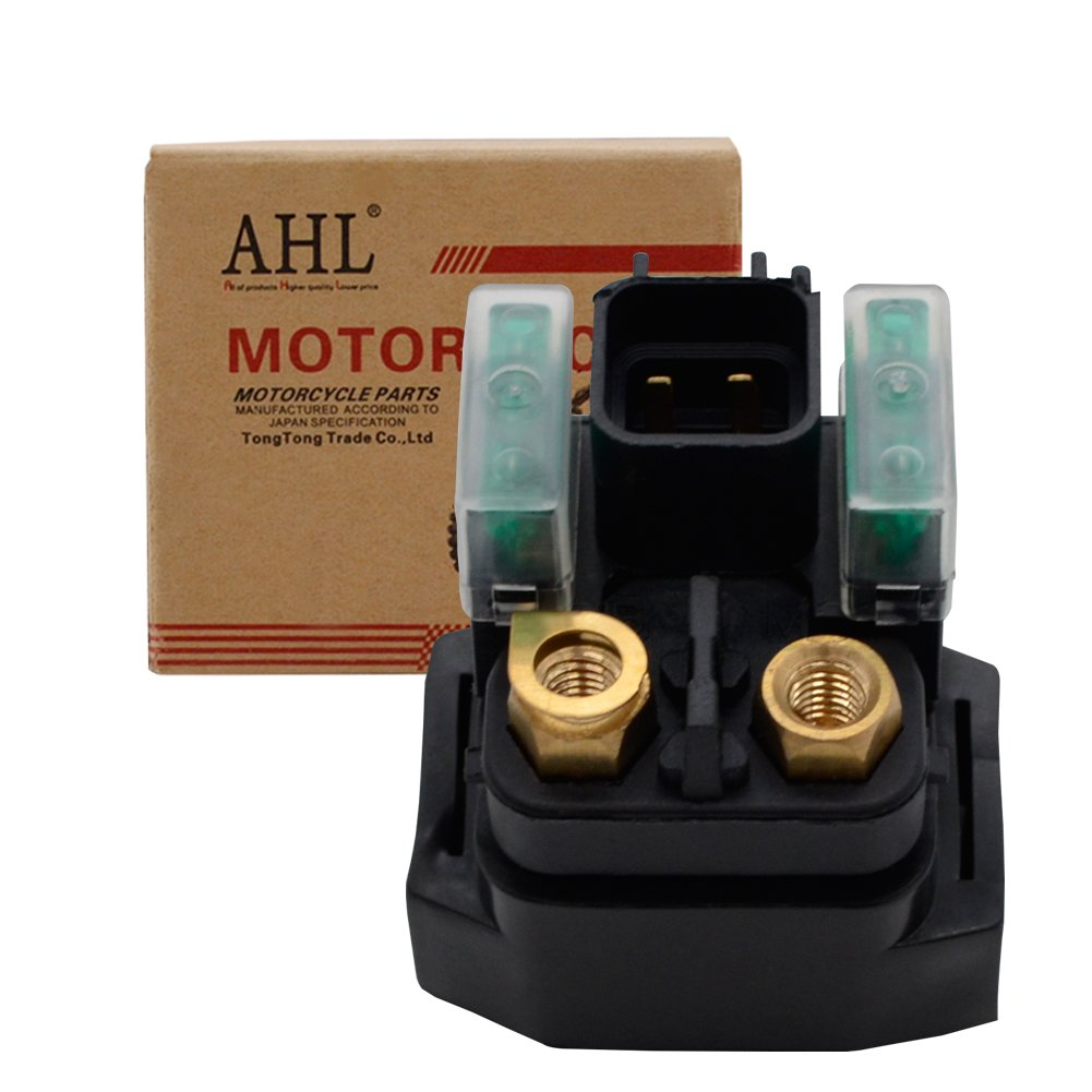 AHL Motorcycle Starter Solenoid Relay for Yamaha RAPTOR 700 R YFM700R 2008-2012