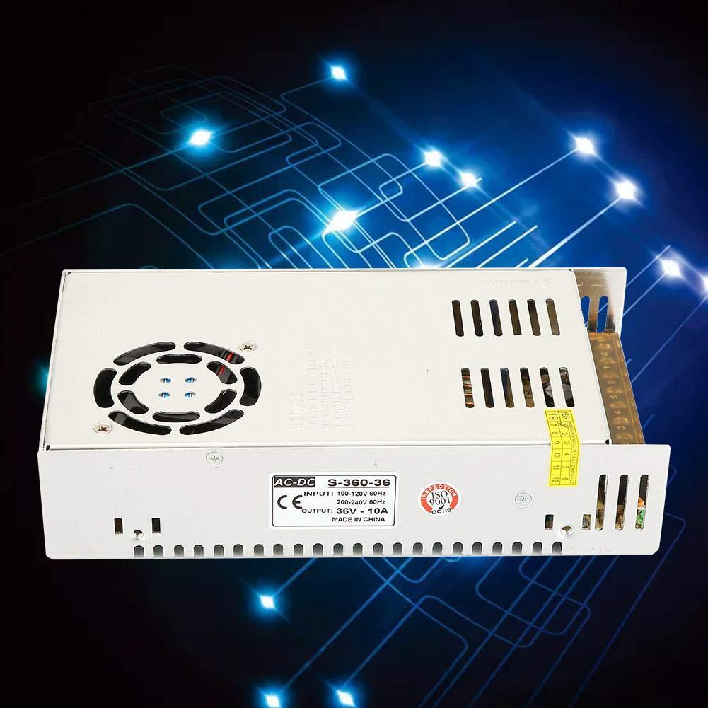 Classe di efficienza energetica A Alimentatore Stabilizzato per striscia bobina a LED switch trimmer AC 100V~220V DC 36V 10A 360W